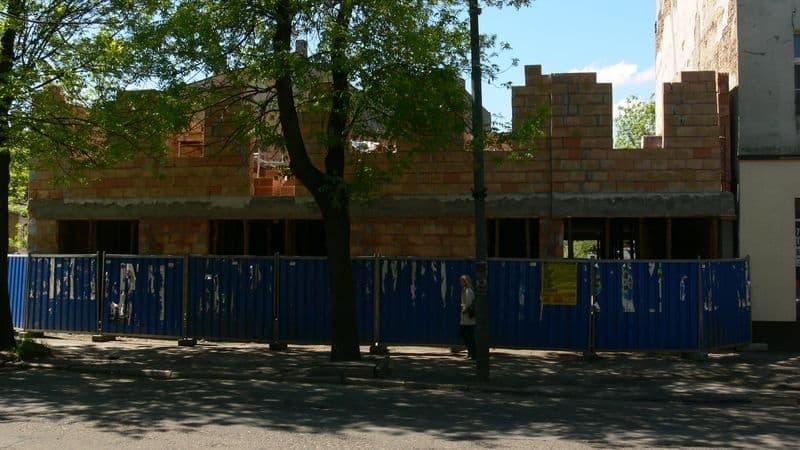 Modrzejowska budowa - 1