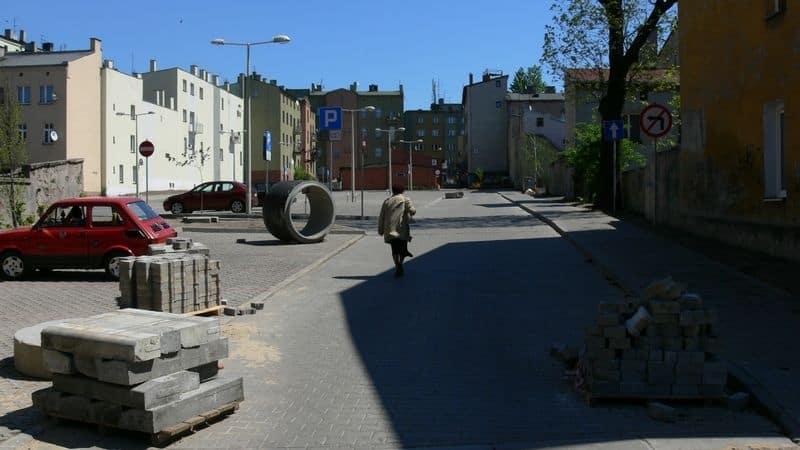 Parking przy Modrzejowskiej