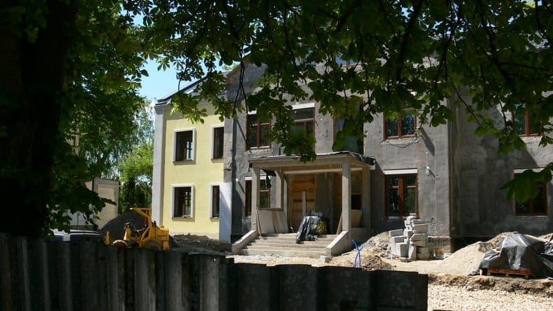 Remont budynku przy Siemońskiej