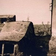 Detal dachu pakowni - świetlika