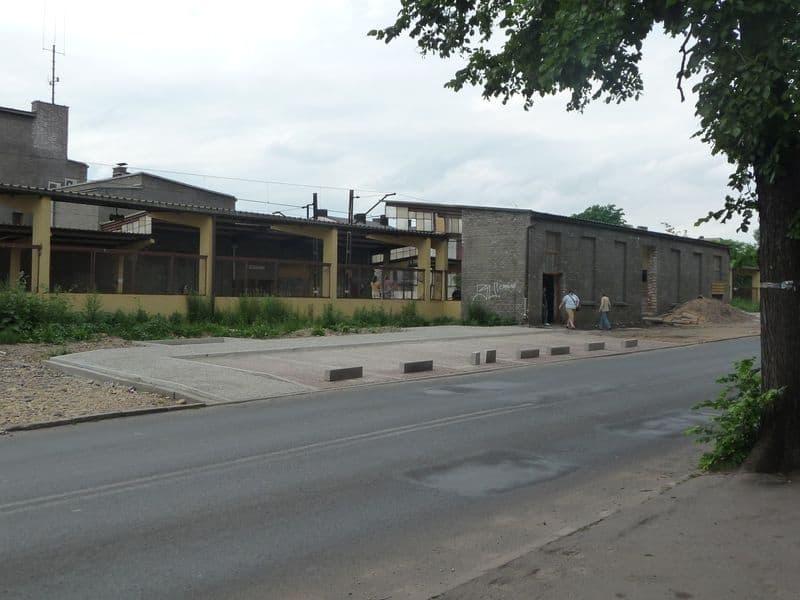 parking od ulicy Sienkiewicza