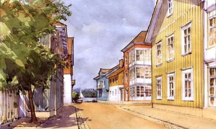 siewierz-przykładowa uliczka