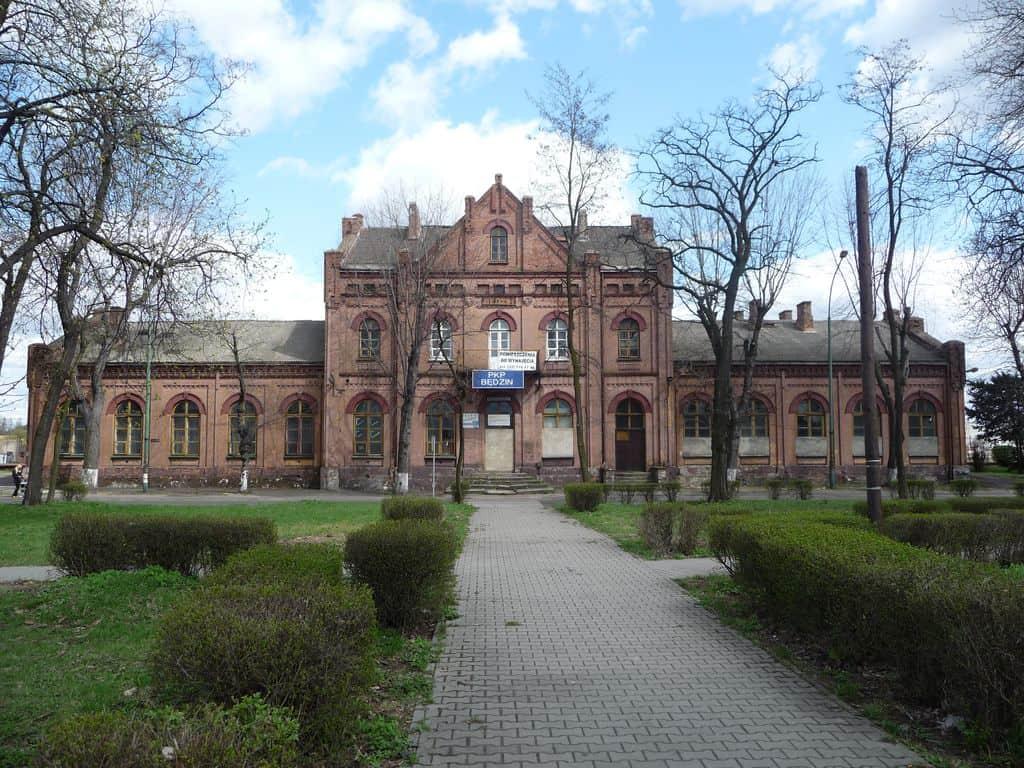 Stary dworzec w Będzinie